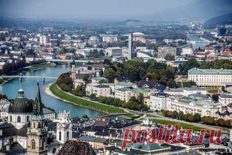 Город Зальцбург, Австрия — Путешествия