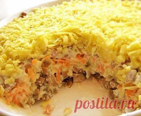 Самый популярный салат для праздничного стола «Белые ночи» | Вкусняшки | Яндекс Дзен
