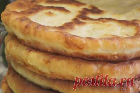 Домашняя сырная лепешка - рецепт вкусной выпечки