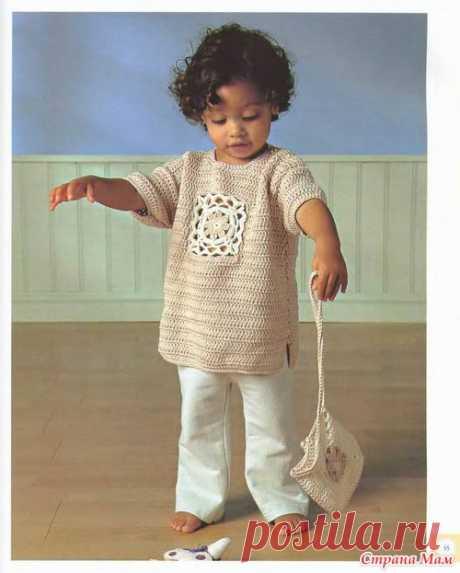 Детский топ и сумочка