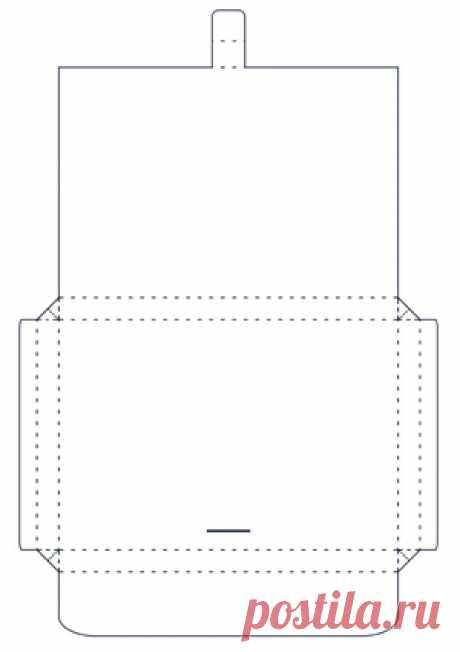 Открытка портфель из бумаги, открытки