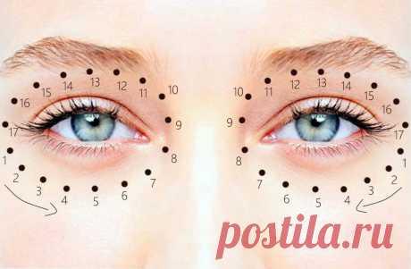 Тратака — практика очистки глаз