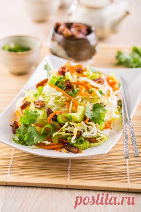 Салат с финиками и капустой – Lisa.ru