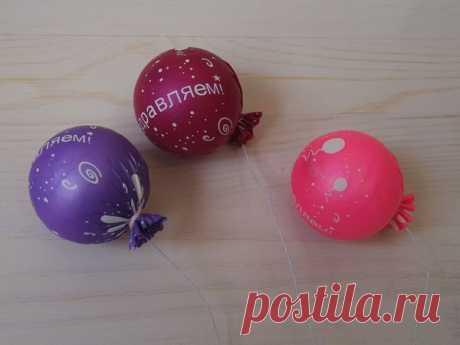 Мастерим «воздушные» шарики для игрушек: публикации и мастер-классы – Ярмарка Мастеров