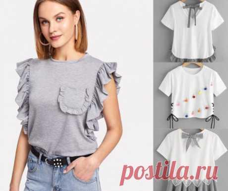Про футболки: шьём и переделываем.