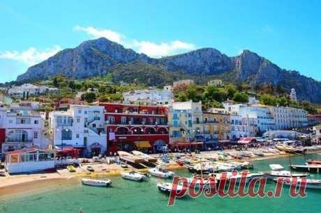 Остров Капри,Италия