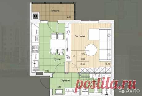 1-к квартира, 36 м², 6/7 эт. - купить, продать, сдать или снять в Калининградской области на Avito — Объявления на сайте Avito