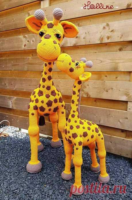 Crochet pattern Giraffe April crochet amigurumi giraffe