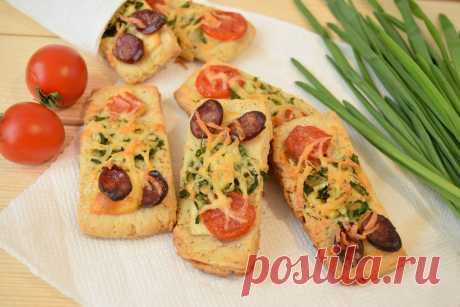 Румяные хлебцы для пикника