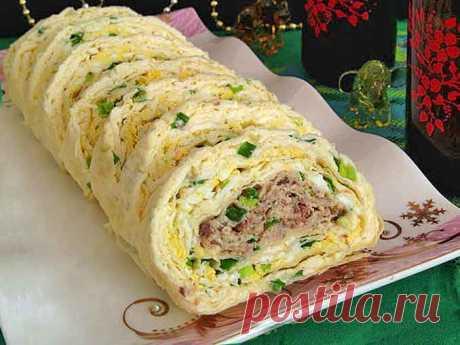 Мимоза в лаваше: оригинальный рецепт праздничного салата