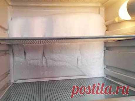 Холодильник чрезмерно намораживает. Что делать?