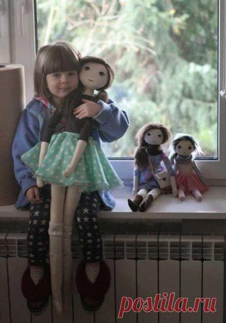 Кукла длинноножка