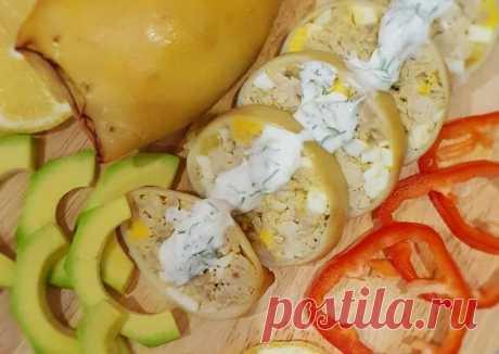 (2) Фаршированные кальмары ПП Автор рецепта Иришка Кузьмина - Cookpad