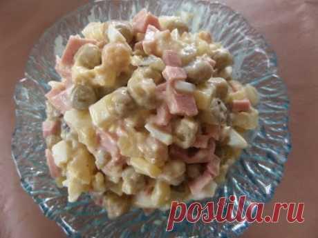 Салат Оливье. Рецепт салата. - YouTube