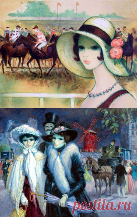 ВСЁ ДЕЛО В ШЛЯПЕ: Женщины в картинах известных художников | Калейдоскоп новостей | Яндекс Дзен