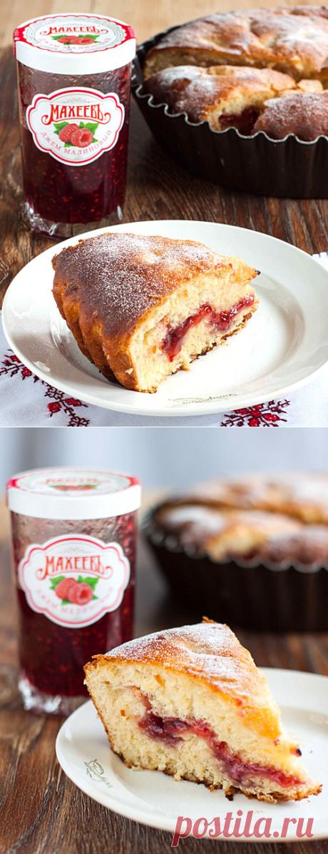 Воздушный ягодный пирог – рецепт приготовления с фото от Kulina.Ru