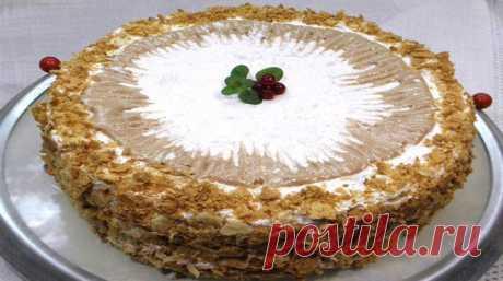 Кремлевский торт - это ну очень вкусный торт, рецепт которого не заслужено забыт!