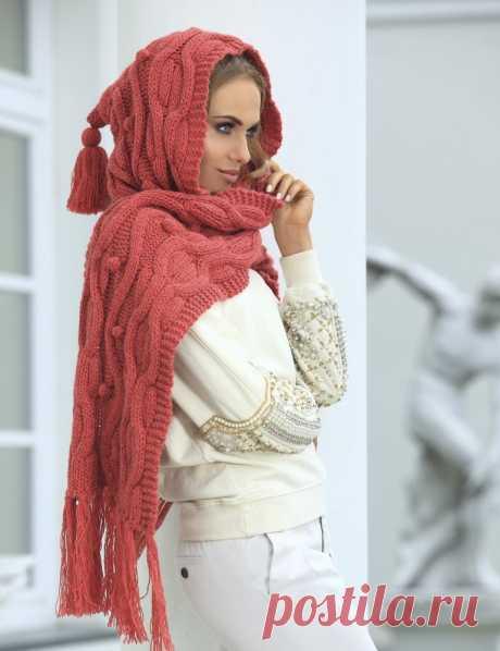 La bufanda la capucha por los rayos: snud para las laboreras primerizas