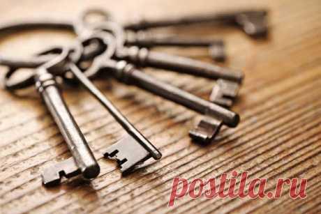 """Заговоры на ключи ... - Познавательный сайт ,,1000 мелочей"""" - медиаплатформа МирТесен"""