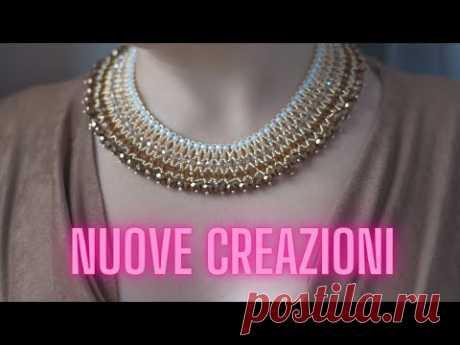 Video creazioni maggio 2021: Bracciale Crown, Quadrifogli, Orecchini Sorrento, Nefertari etc