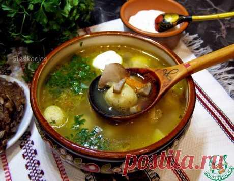 Куриный суп с галушками из манки – кулинарный рецепт