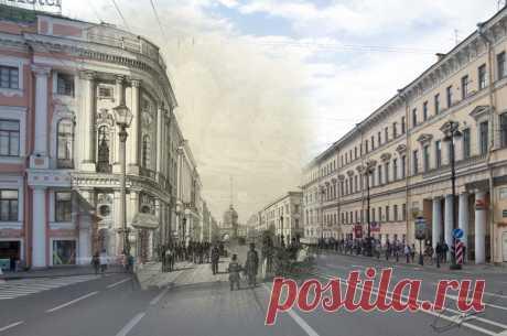 Санкт-Петербург. На машине времени в XIX век. - Связь времен / Link to the Past