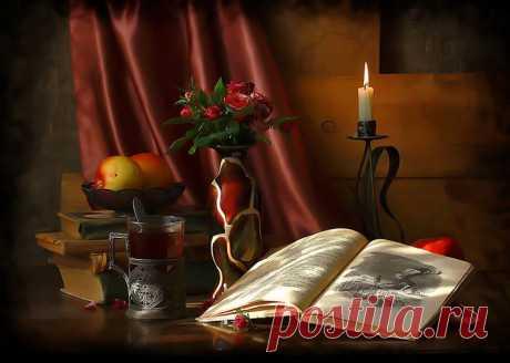 Интересная книга пробуждает жажду и тогда каждая страница,становиться глотком.И не успокоишься пока не выпьешь все до последней строчки.