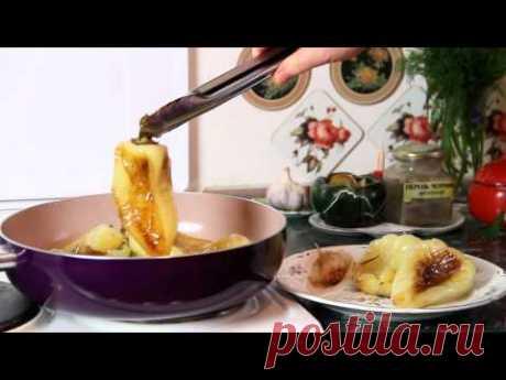 Как приготовить вкусный жареный болгарский  перец с чесноком