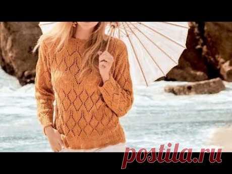 Красивые летние модели связанные спицами - Beautiful summer models tied with knitting needles