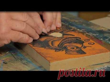 Lino & Relief Printmaking.  Franz Spohn.