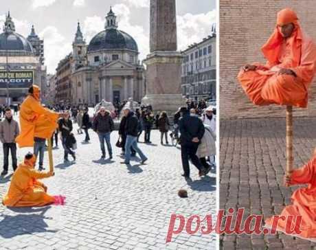 Секрет левитации уличных артистов, наконец, раскрыт.