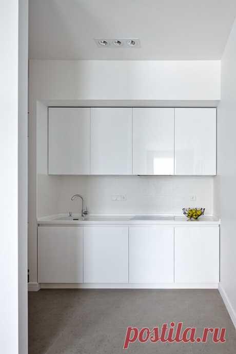 Как оформить линейную кухню: 8 классных идей от профи   Свежие идеи дизайна интерьеров, декора, архитектуры на InMyRoom.ru