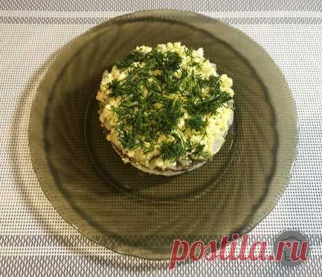Вкуснейший и сочный салат с рыбой. | Рецепты вкусных салатов | Яндекс Дзен