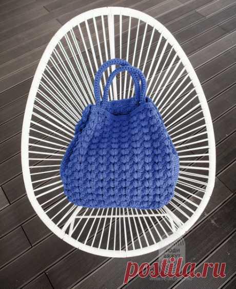 Связанная крючком сумка: схема вязания, подробная инструкция, описание на сайте «Люди вяжут»