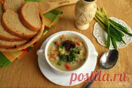 Пшенный суп с грибами Пшенный сливочный суп с грибами и первой весенней зеленью, черемшой. Этот вкусный суп с бархатистой текстурой готовится быстро! Вам придется потратить всего несколько минут на нарезку ингредиентов! Делюсь с вами рецептом, как приготовить пшенный суп с грибами...