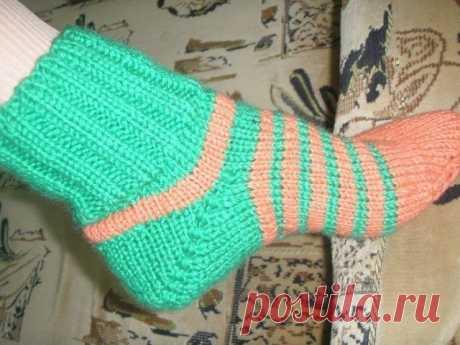 Советы как вязать носки