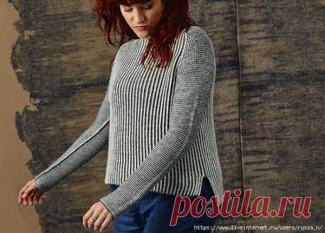 Пуловер Luna от Anna Strandberg Вязали так же? Поделитесь в комментариях. #пуловер_женский@knit_best, #пуловер_спицами@knit_best  Размеры: Показать полностью...