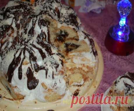 Торт Пьяный Чернослив - пошаговый фоторецепт - десертКулинарные рецепты