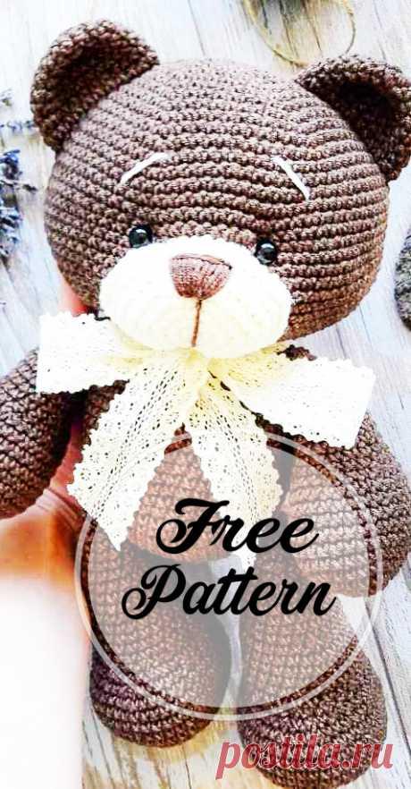 New and Free Crochet Bear Amigurumi Pattern, Very Soft! - Free Amigurumi Pattern, Amigurumi Blog!