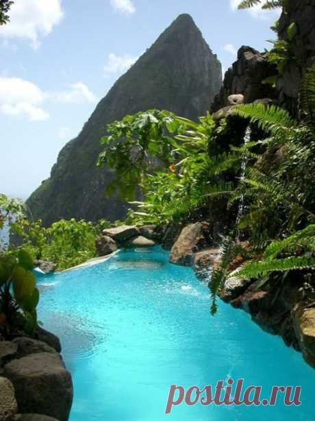 El paraíso exótico. La isla Santa Lucía