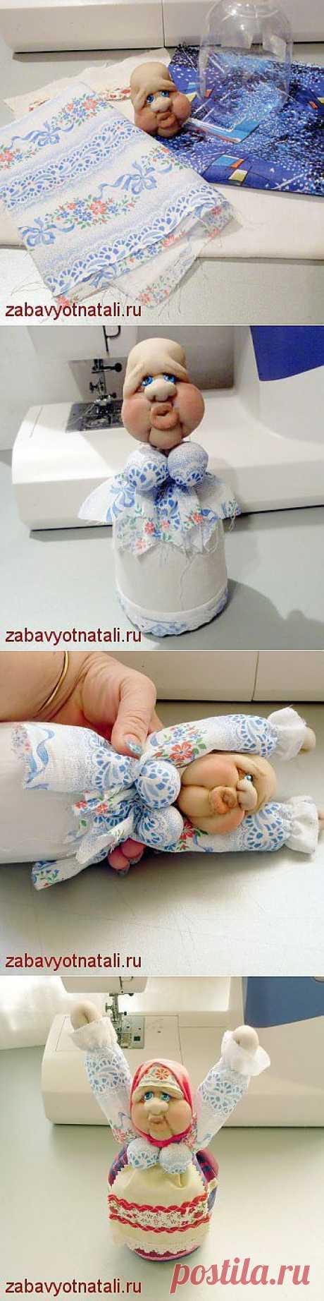"""Кукла """"Бабонька русская"""". Мастер-класс по изготовлению."""