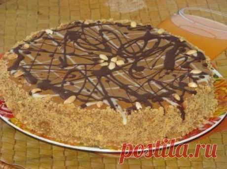 Арахисовый торт «Коровка»