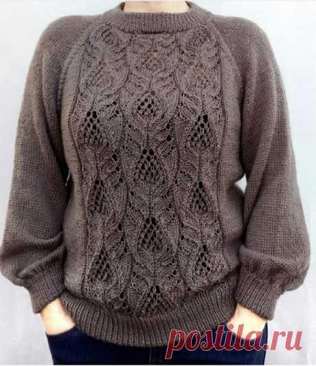 Отличный узор для пуловера и не только