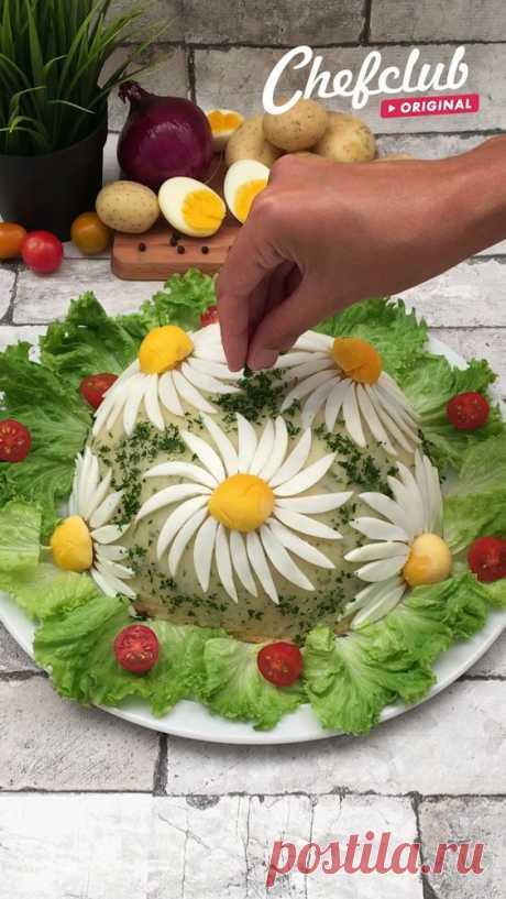20 минут · Порций: 6 · El balance perfecto entre sabor y presentación! 🥚🥔🌼😋 Para más recetas visita nuestro sitio Chefclub!