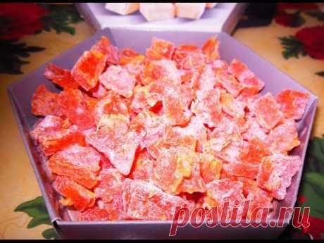 Цукаты из Тыквы, Как Сделать Цукаты из Тыквы Вкусно, Подробный Пошаговый Рецепт - YouTube