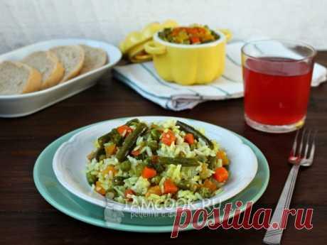 Рис с овощами в горшочках в духовке — рецепт с фото Рис с овощами, приготовленный в горшочках – это не только красиво, но и очень вкусно.