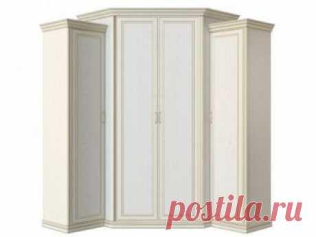 Четырехдверные распашные шкафы (4-х створчатые) — купить недорого в Москве от производителя в интернет-магазине «Первый Мебельный»