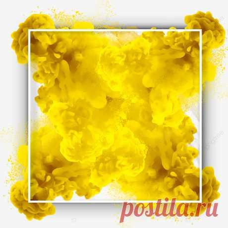 Желтый абстрактный дым рамка границы, дым, абстракция, рамка PNG и PSD-файл для бесплатной загрузки Yellow Abstract Smoke Frame Border, Smoke, Abstract, Frame PNG Transparent Clipart Image and PSD File for Free Download