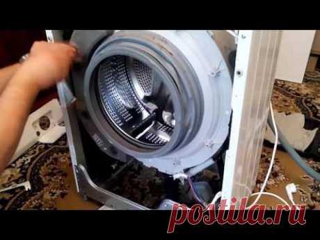 Разборка стиральной машины (на примере LG F 1068LD)