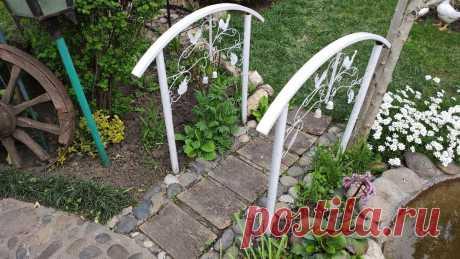 Показываю свой чудесный сад. Все делалось своими руками более 17 лет   Шебби-Шик   Яндекс Дзен